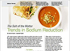 Innovations in sodium reduction